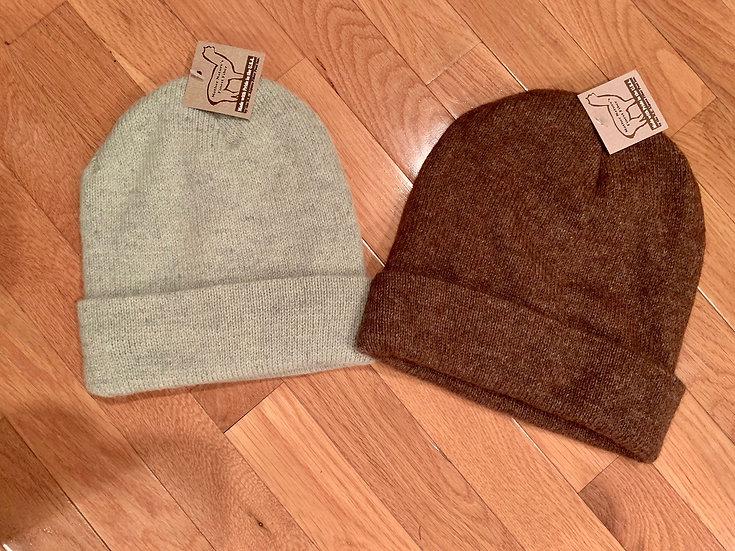 Alpaca Hat Lined with Micro Fleece