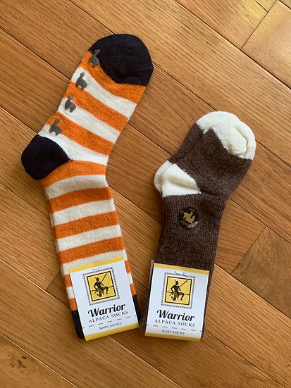 Kids Alpaca Crew Socks