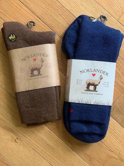 Heavyweight Alpaca Boot Socks