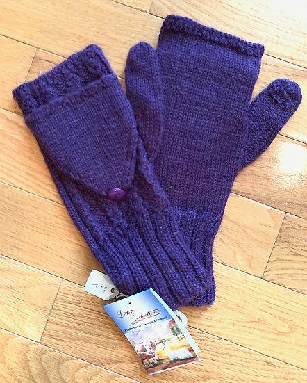 Fine Purple Glittens