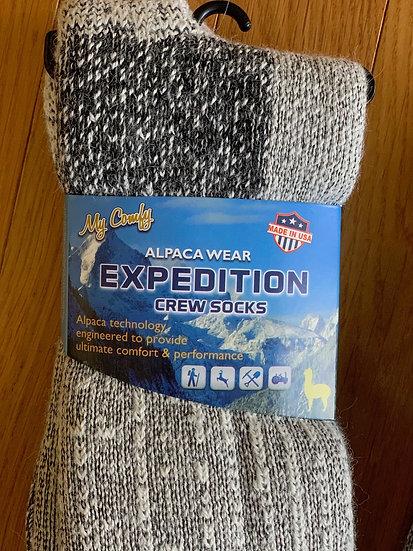 Expedition Heavy Crew Alpaca Socks