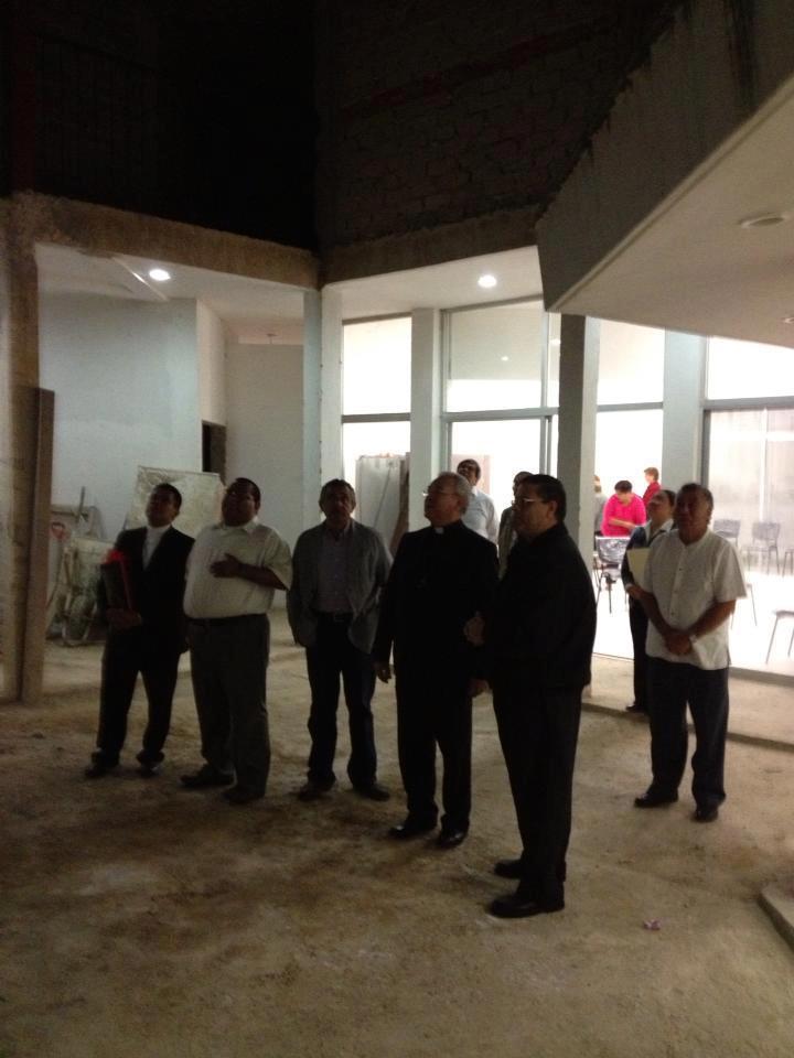 Visita del Cardenal Fco. Robles