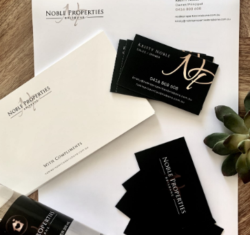 Kristy Noble Stories: The business cards