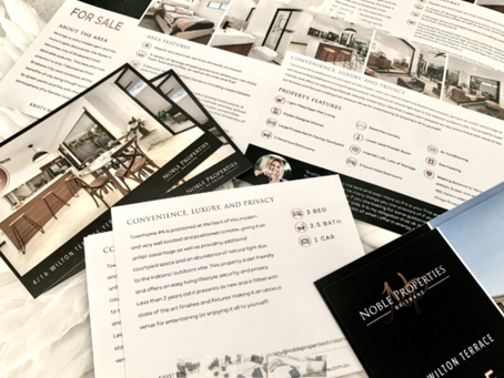 Kristy Noble Stories: The Property Brochures