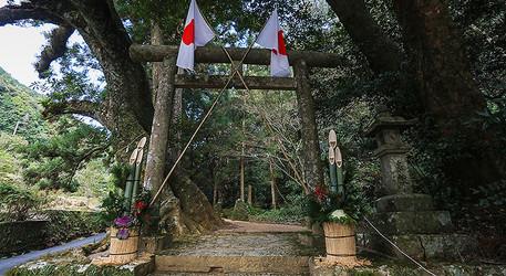 神内神社 鳥居