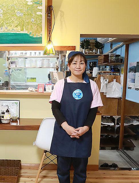 尾﨑 亜紀(kokoro食堂オーナー)