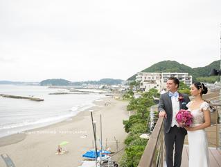 結婚式@scapes the suite葉山 ロケーションフォト