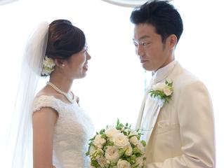 結婚式@パレスホテル立川 ロケーションフォト1(白ドレス)