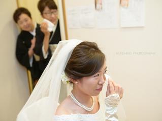 結婚式@ パレスホテル立川 お支度