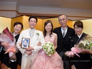結婚式@パレスホテル立川 花束贈呈〜お見送り