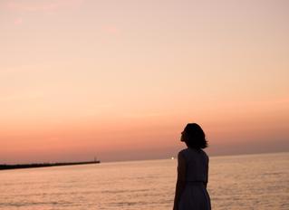 アノヒノ夕日とポートレイト