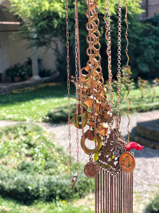 Vintage upcycled jewelry by StorieinItaly