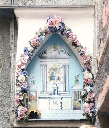 @storieinitaly Vernazza Italy street altar