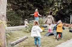 Kindergarden opvang _ little detail phot