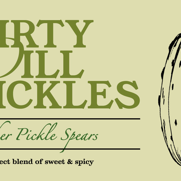 Dirty Dill Pickles
