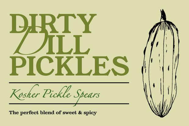 Imagined Pickle Label