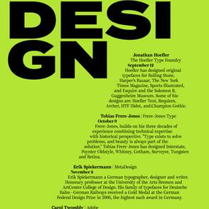 Contemporary Type Design Event