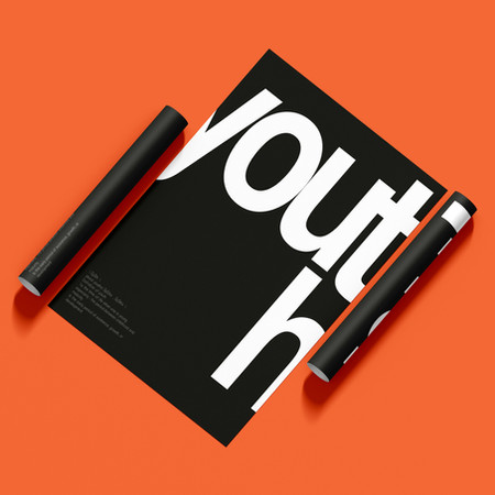 """SWISS """"YOUTH"""" POSTER"""