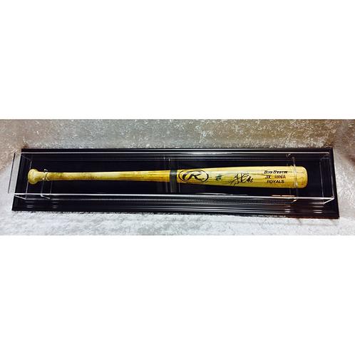 Single Baseball Bat Display Case