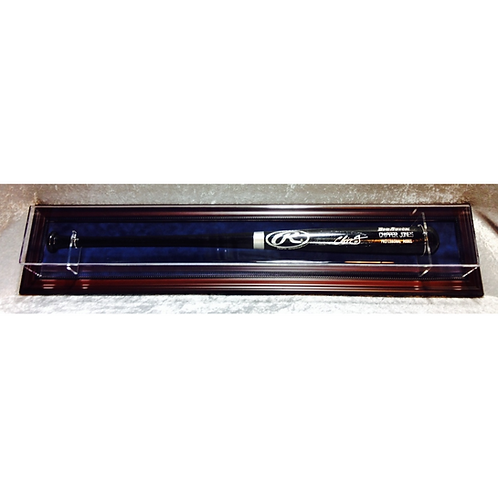 Single Baseball Bat Display Case
