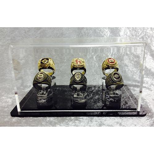 6 Ring Display Case