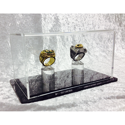 Double Ring Display Case