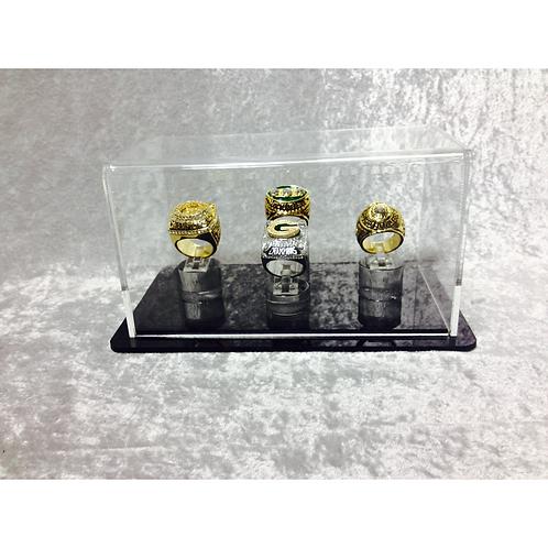 4 Ring Display Case