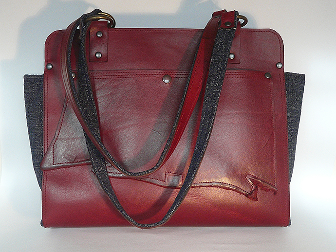 """Red Leather 1"""
