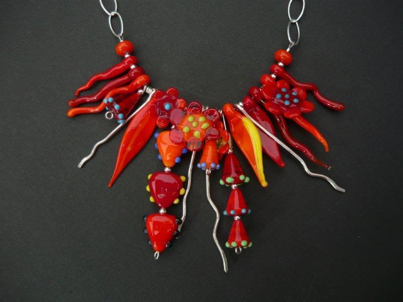 """Wild Flowers"" necklace"