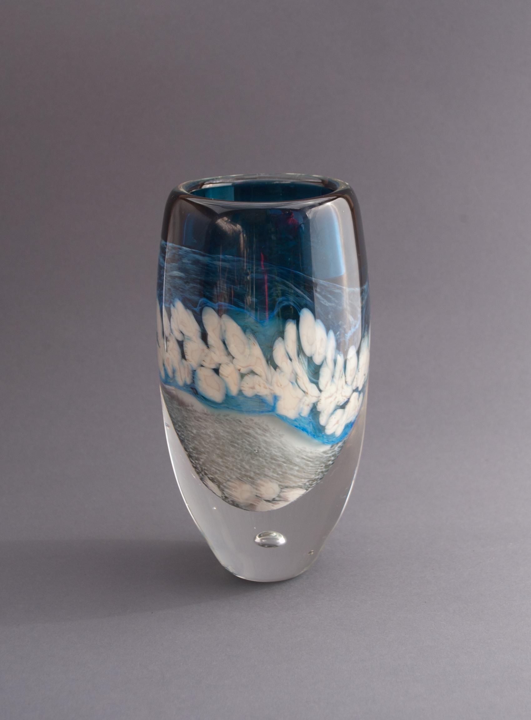 """""""Storm Clouds"""" vase"""
