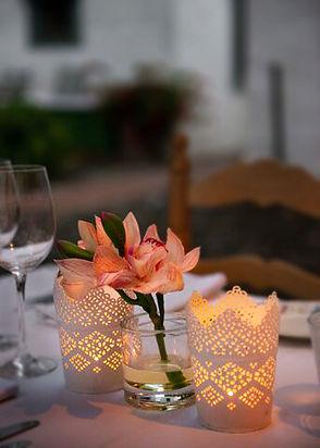 cena romantica en La Virgina de Marbella