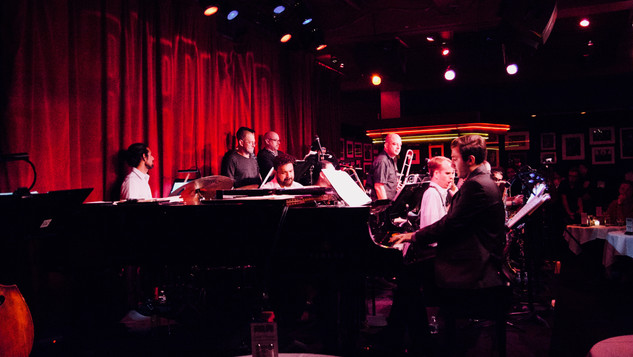 Andrew Andron with the Afro Latin Jazz Orchestra at Birdland