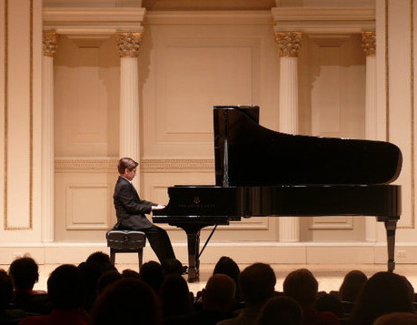 Andrew Andron at Carnegie Hall