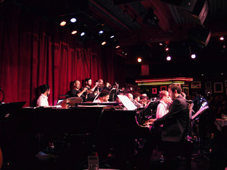 Andrew Andron with the Afro Latin Jazz Orchestra Birdland (New York, NY) July 2018