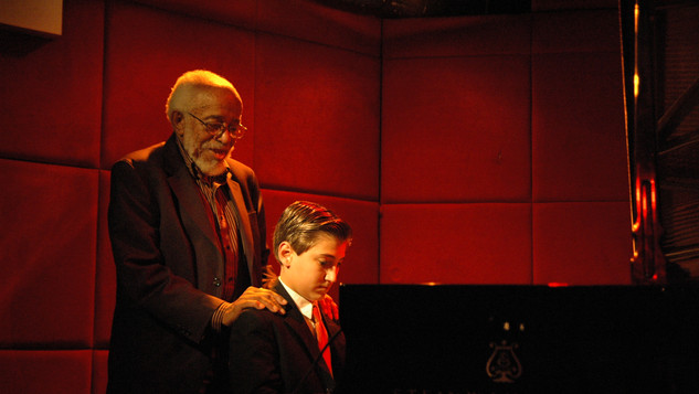 Andrew Andron with Barry Harris at Jazz Standard