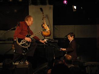 Les Paul and Andrew Andron The Iridium (New York, NY) April 2009
