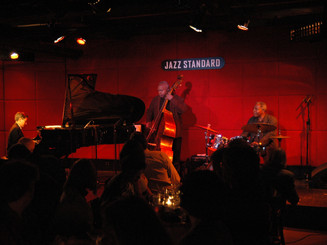 Ray Drummond, Leroy Williams, and Andrew Andron Jazz Standard (New York, NY) September 2009