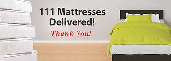 CTR Cares Mattress Fundraiser 111 Mattresses delivered