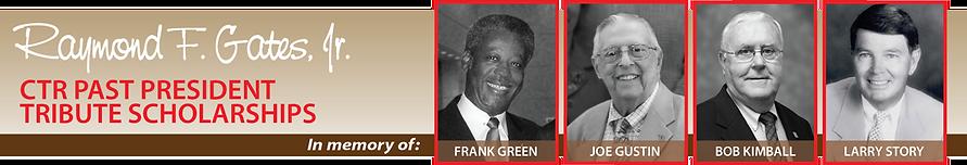 CTR Past Presidents Tribute Scholarships
