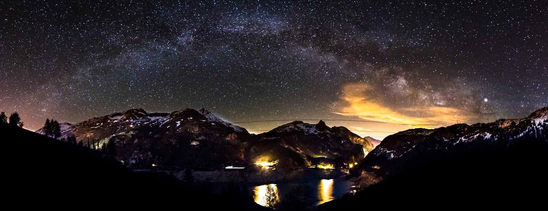Voie Lactée - Lac de Tignes