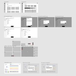 Creating prototype wireframes
