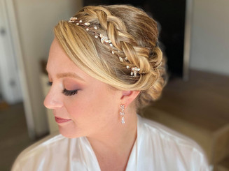 Wedding day hair & makeup