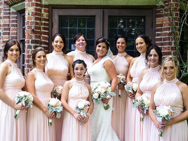 Stacy and her bridal party