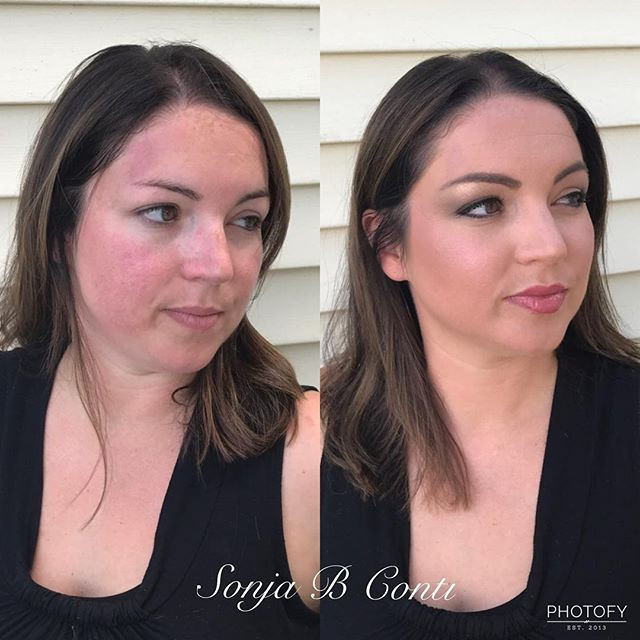 Makeup on the lovely Danielle! #makeup #