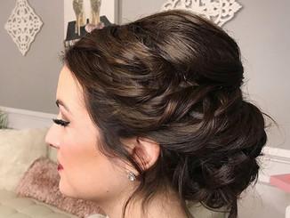 Bridal hair trial by Taryn