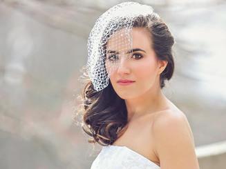 Bridal photo shoot for Tease Hair Studio