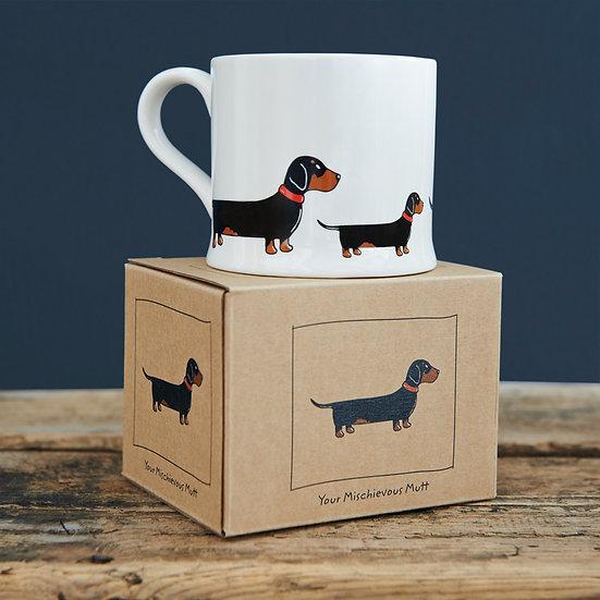 Hundetasse Dackel  | Sweet William Designs
