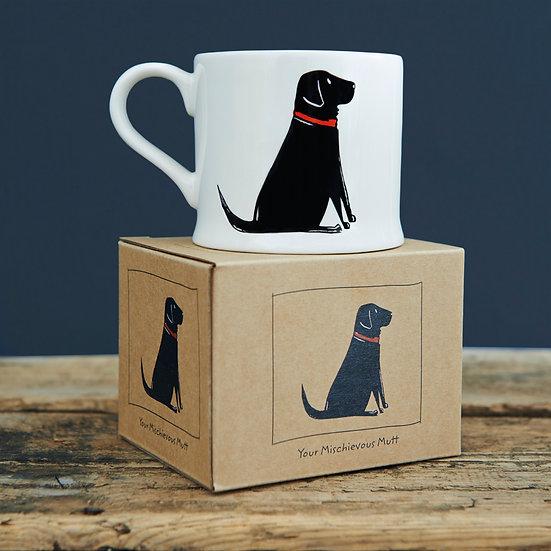 Hundetasse Schwarzer Labrador  | Sweet William Designs