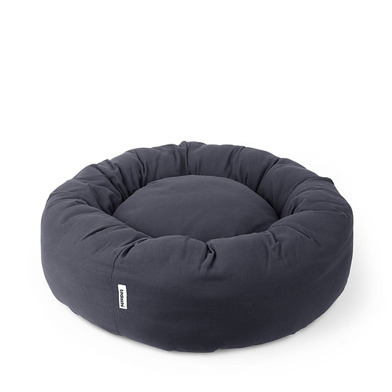 Hundebett Donut Bed, Warm Grey | Tadazhi