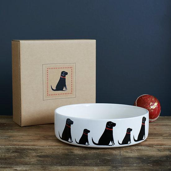 Hundenapf Schwarzer Labrador  | Sweet William Designs